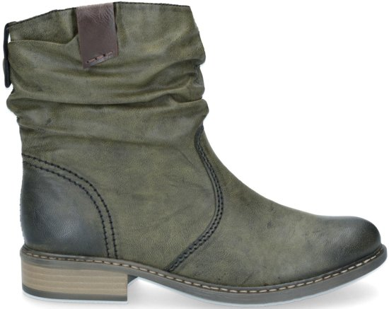 bol   rieker dames laarzen - groen - maat 41