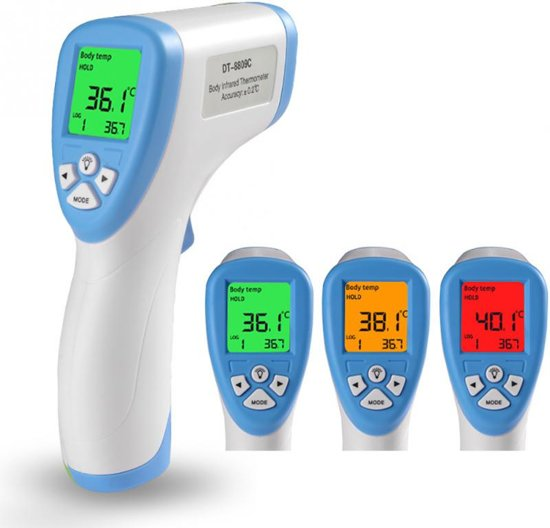 Bolcom Infrarood Thermometer Laser Koorts Meter Digitale Ir