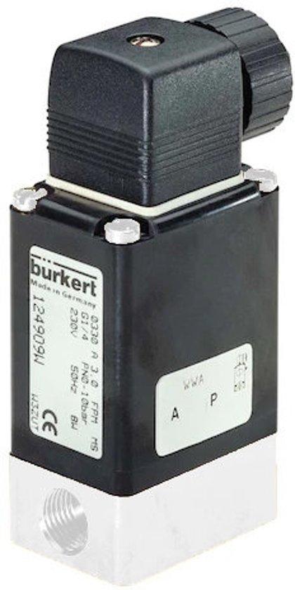 2/2 G1/4'' PVDF NO 24VDC Magneetventiel Burkert 0330 87558 - 87558