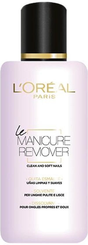 L'Oréal Paris Make-Up Designer Color Riche La Manicure - Soft Remover - 125 ml - Nagellakremover