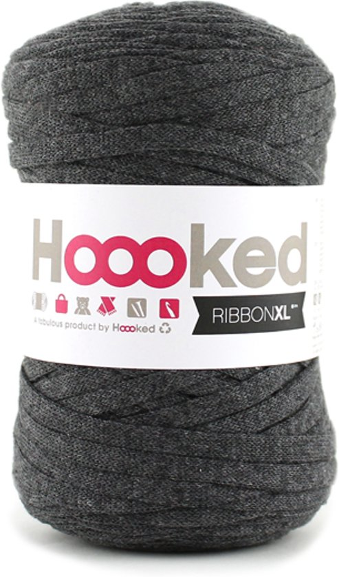 Bolcom Hoooked Ribbonxl Charcoal Anthracite Hoooked Speelgoed