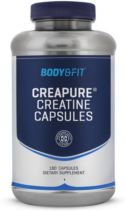 Body & Fit Creatine - CreaPure® capsules - 180 capsules