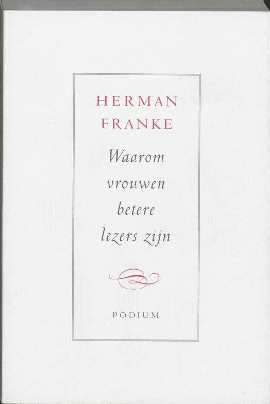 Waarom vrouwen betere lezers zijn - Herman Franke pdf epub