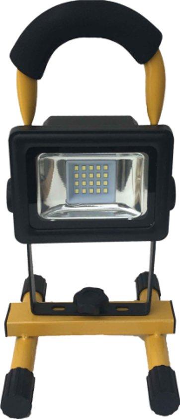 LED's Work werklamp PRO 10W 6000K IP65 oplaadbaar
