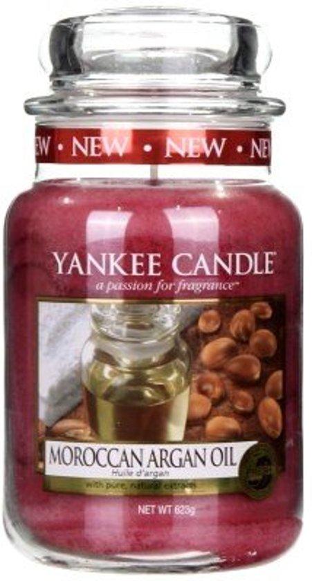 Yankee Candle Moroccan Argan Oil - Large Jar