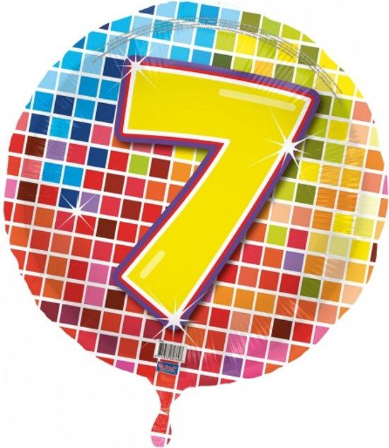 7 jaar bol.| Folie ballon 7 jaar, Merkloos | Speelgoed 7 jaar