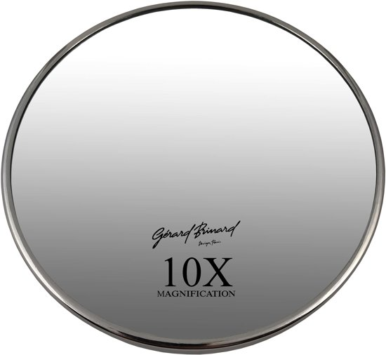 Spiegel Met Zuignap : Bol gerard brinard wandspiegel zuignap zilver spiegel x