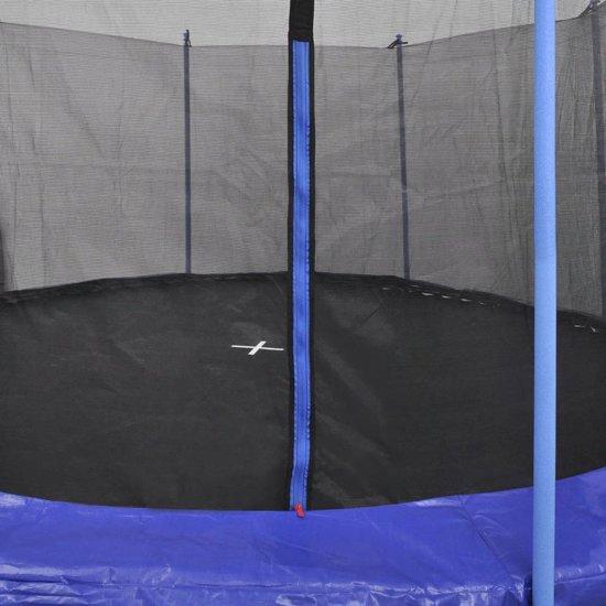 vidaXL Trampolineset 5-delig 3,96 m