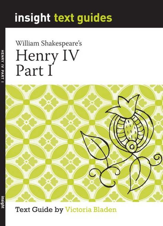 an analysis of shakespeares henry iv