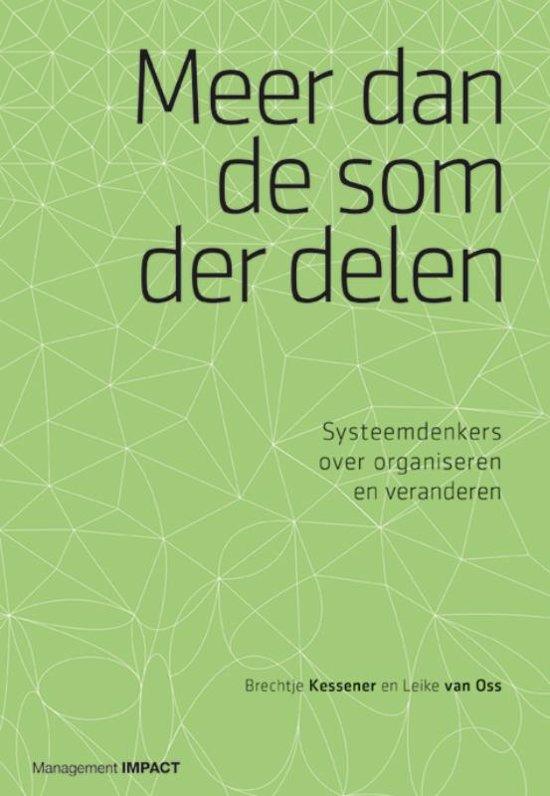Boek cover Meer dan de som der delen van Leike van Oss (Hardcover)