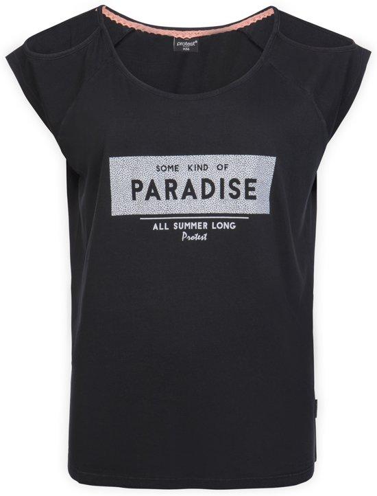Protest TREY T-Shirt Dames - True Black - Maat S/36