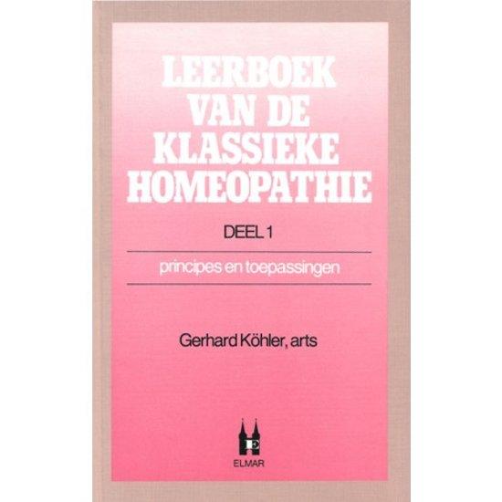 LEERBOEK KLASSIEKE HOMEOPATHIE DL 1