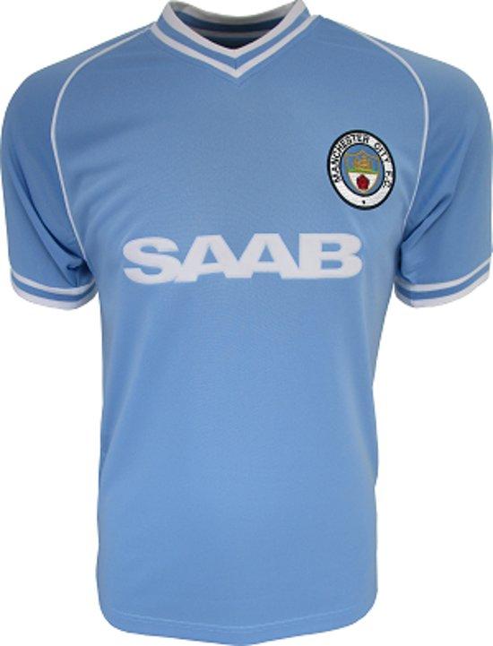1993 Retro Home 1994 Manchester City Shirt W9DIYe2HEb