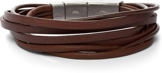 Fossil Vintage casual Mannen Armband JF86202040