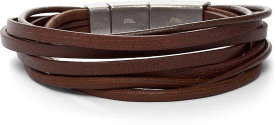 1e4bf2e880c bol.com | Fossil Vintage casual Mannen Armband JF86202040