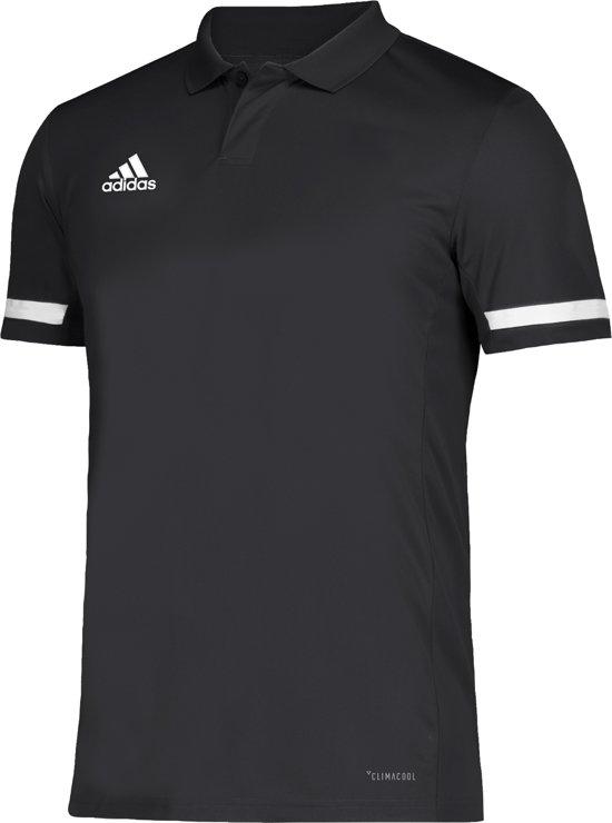 Adidas Team 19 Polo - Voetbalshirts  - zwart - S