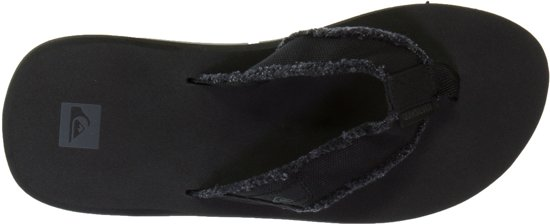 Quiksilver brown Slippers Heren Black Monkey 46 Maat black Abyss AOrfAvTS