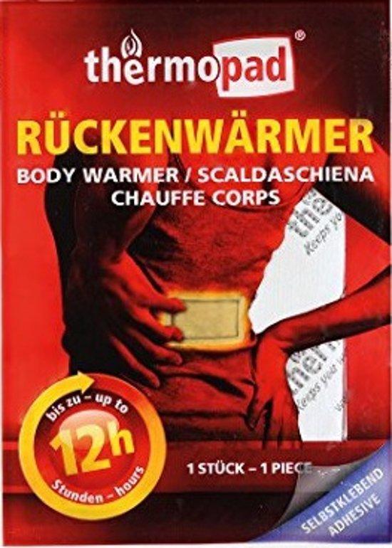 Relags Thermopad bodywarmer - 12 uur body / rug verwarming - 1 stuks