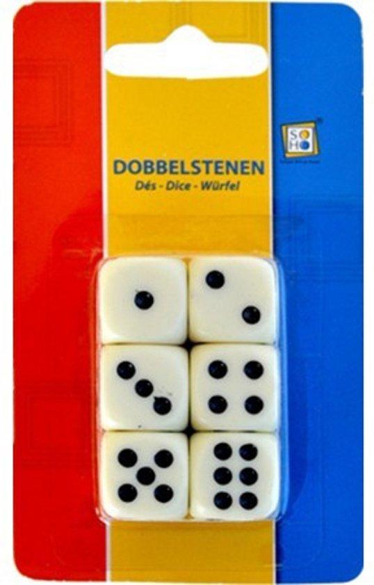 Afbeelding van het spel Set van 6 dobbelstenen