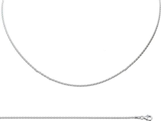 Set armband19+collier45 palmier 925