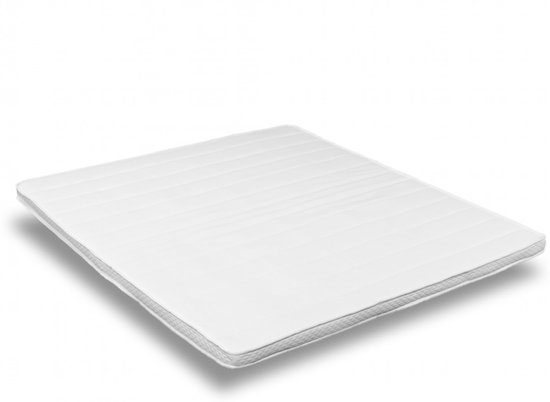 O.M.M. -Topdekmatras - Topper 180x210 - Koudschuim HR55 8cm - Medium