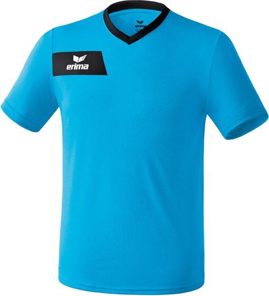 Erima Porto - Sportshirt - Mannen - Maat S - Blauw/Zwart
