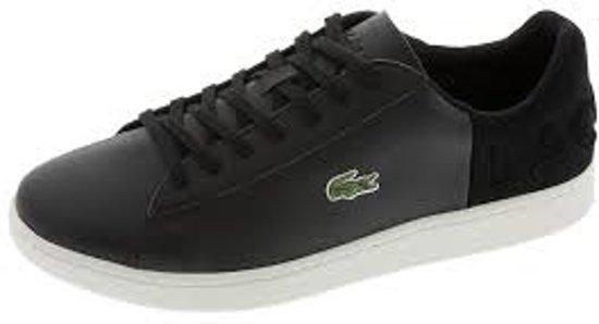 Zwart 44 Carnaby 1 Spm Sneakers Evo Lacoste Maat Heren 418 wXqPdz7z