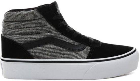 Vans WM Ward HI Platform grijs sneakers dames (VN0A4BUCXOX1)