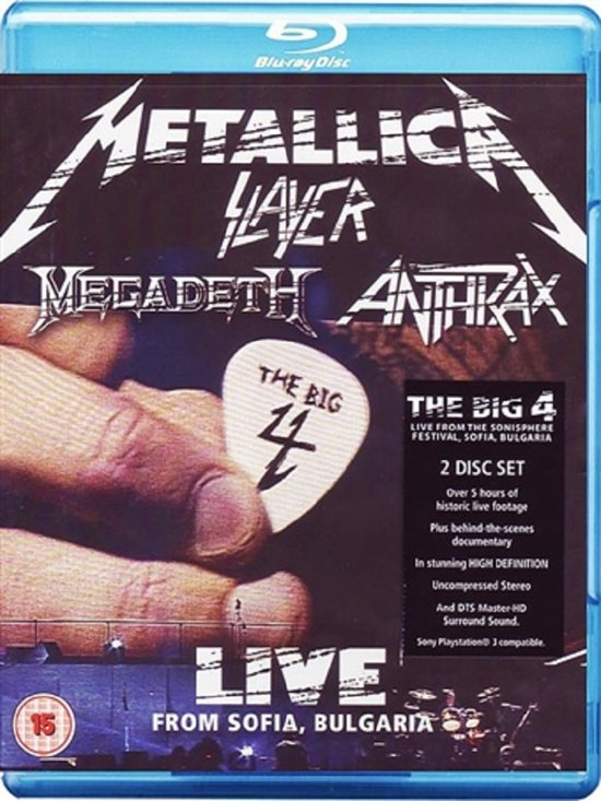 The Big Four - Live From Sonisphere, Bulgarije