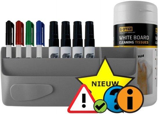 Bekend bol.com | Whiteboard kit (starter) - Grijs FG44