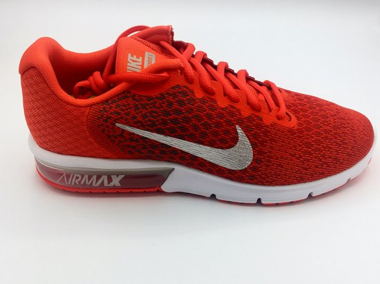 nike air max sequent 2 zwart wit