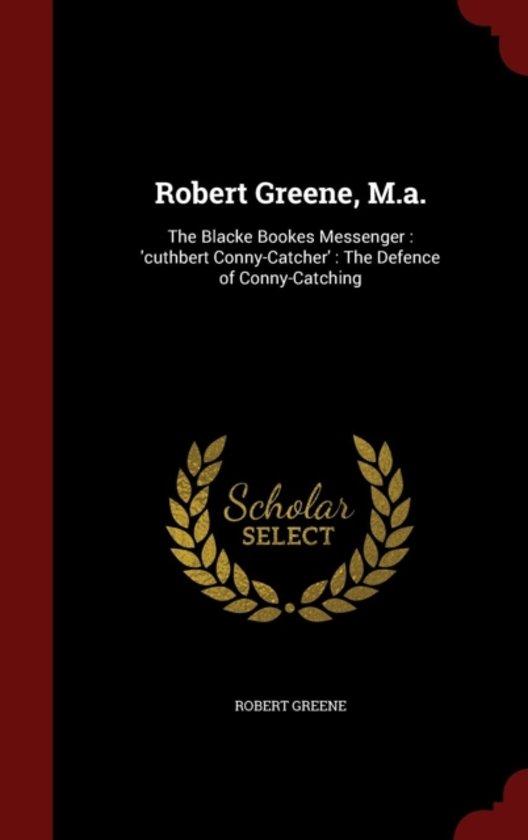 Boek cover Robert Greene, M.A. van Professor Robert Greene (Hardcover)