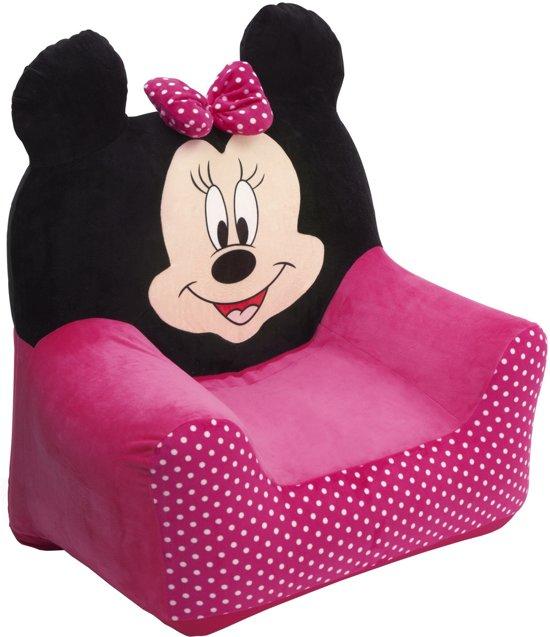 Minnie Mouse Stoel.Bol Com Disney Minnie Mouse Opblaasbare Stoel Roze Zwart