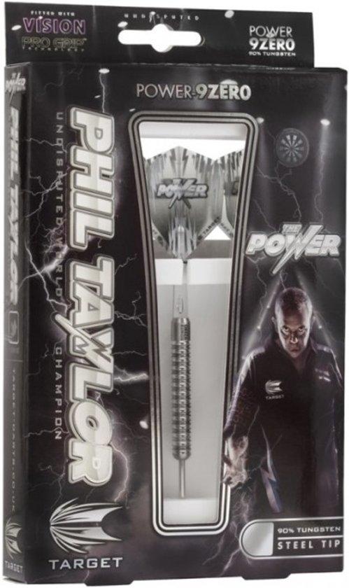 POWER-9ZERO Phil Taylor's 22G 90% Tungsten Steeltip Darts
