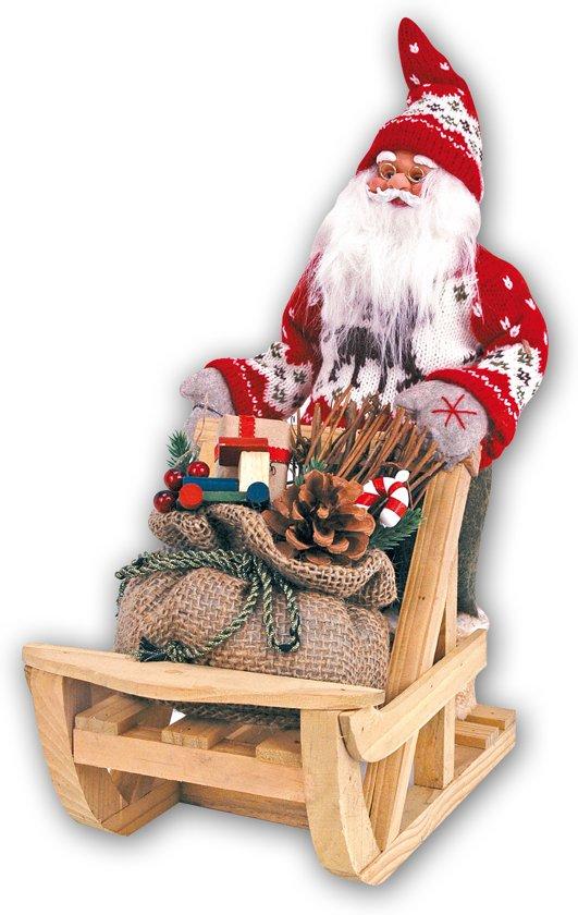 Zep kerst decoratie kerstman met slee 14 x - Decoratie afbeelding ...