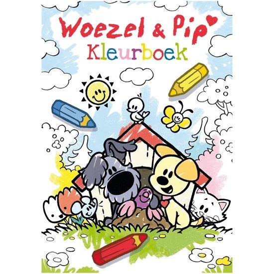Boek cover Woezel & Pip - Kleurboek Woezel & Pip van Dromenjager (Paperback)