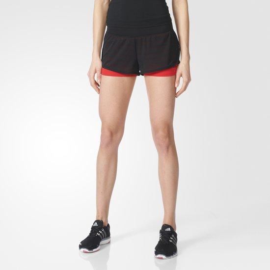   adidas Gym 2in1 Mesh Shorts AZ5835 Sportbroek
