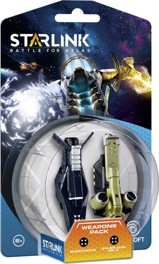 Starlink: Battle for Atlas (Shockwave / Gauss Gun Mk.2 Weapons Pack)