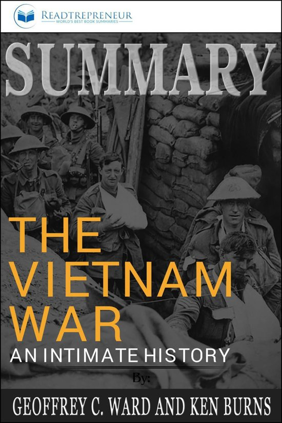 Boek cover Summary of The Vietnam War: An Intimate History by Geoffrey C. Ward and Ken Burns van Readtrepreneur Publishing (Onbekend)