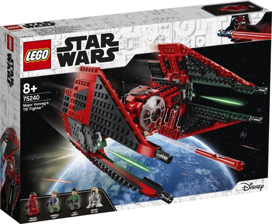 LEGO Star Wars Major Vonreg's TIE Fighter - 75240