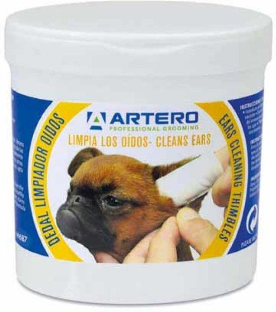 Artero - Vingerdoekjes - Voor het reinigen van de oren van je hond - 50 stuks