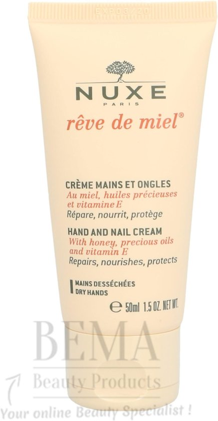 Nuxe Rêve de Miel Hand en Nagelcrème 50ml