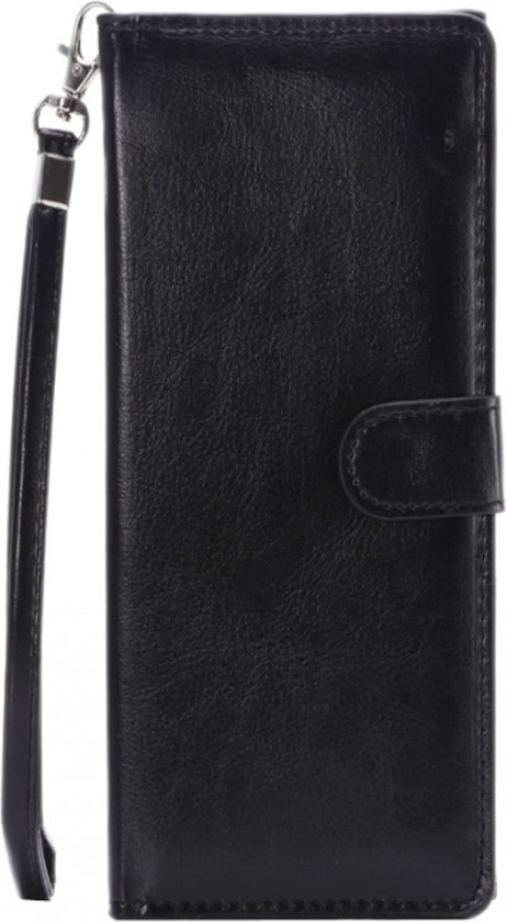 c222977754a bol.com   Wallet Tasje voor smartphone, zwart , merk i12Cover