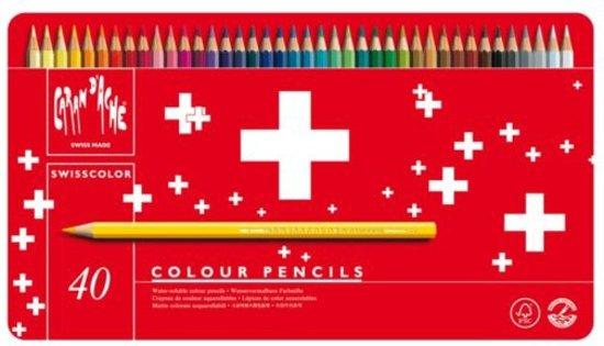 Caran d'Ache Swisscolor Aquarel Kleurpotloden