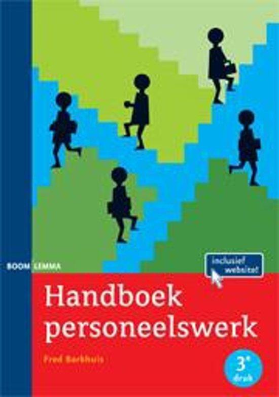 Bronnenboeken MBO - Handboek personeelswerk