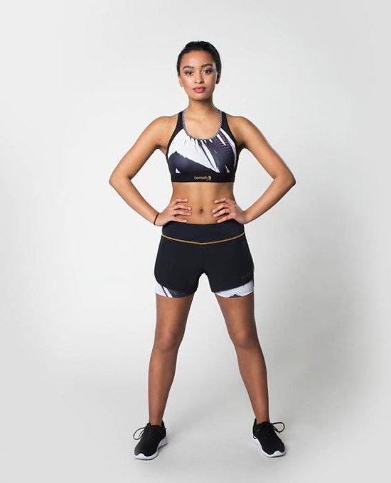 AFIYA sport short wit / Maat XL