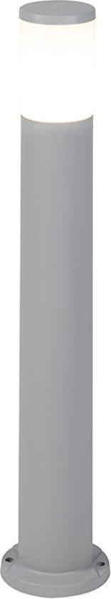 QAZQA Amelia - Staande buitenlamp - 1 lichts - H 800 mm - Grijs