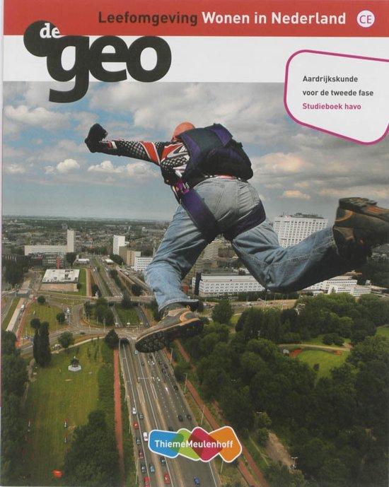 De geo Havo Leefomgeving Wonen in Nederland deel Studieboek