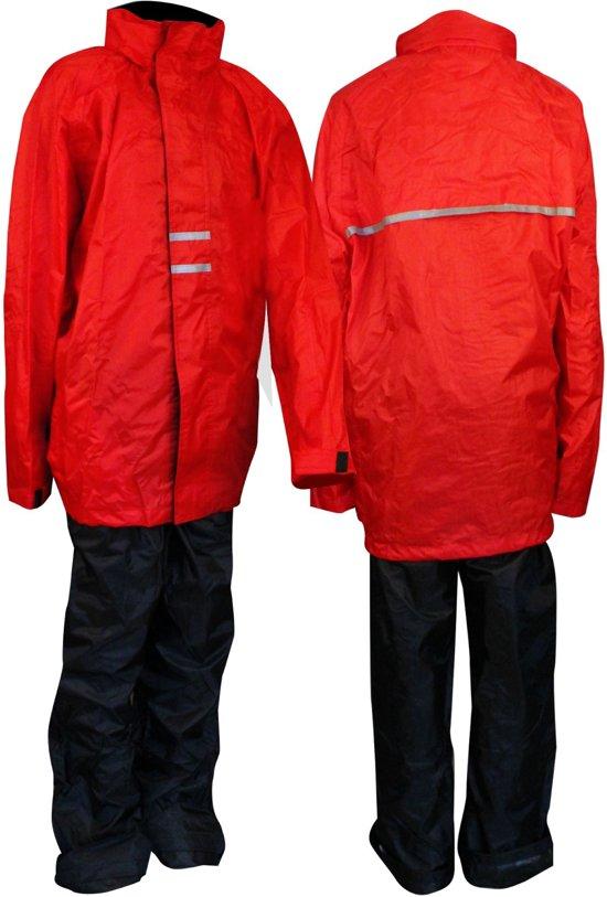 Ralka Regenpak - Kinderen - Unisex - Maat 152 - Rood