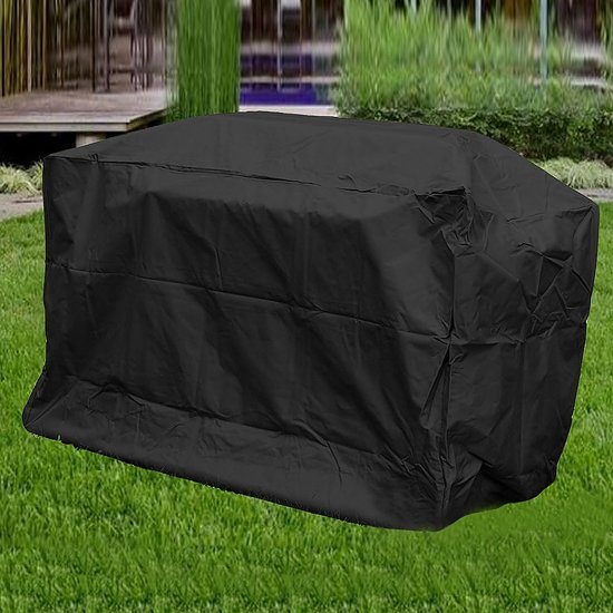 Bbq Hoes Universeel.Large Universele Bbq Beschermhoes Barbecue Grill Hoes Cover Afdekhoes Zwart